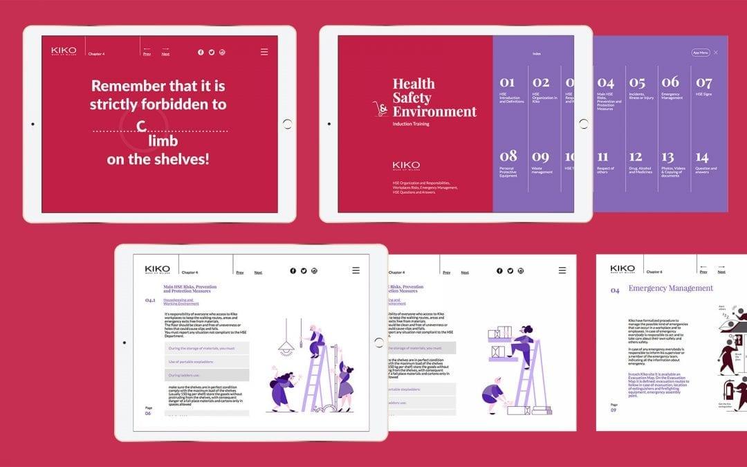 Pubblicazione digitale per la formazione