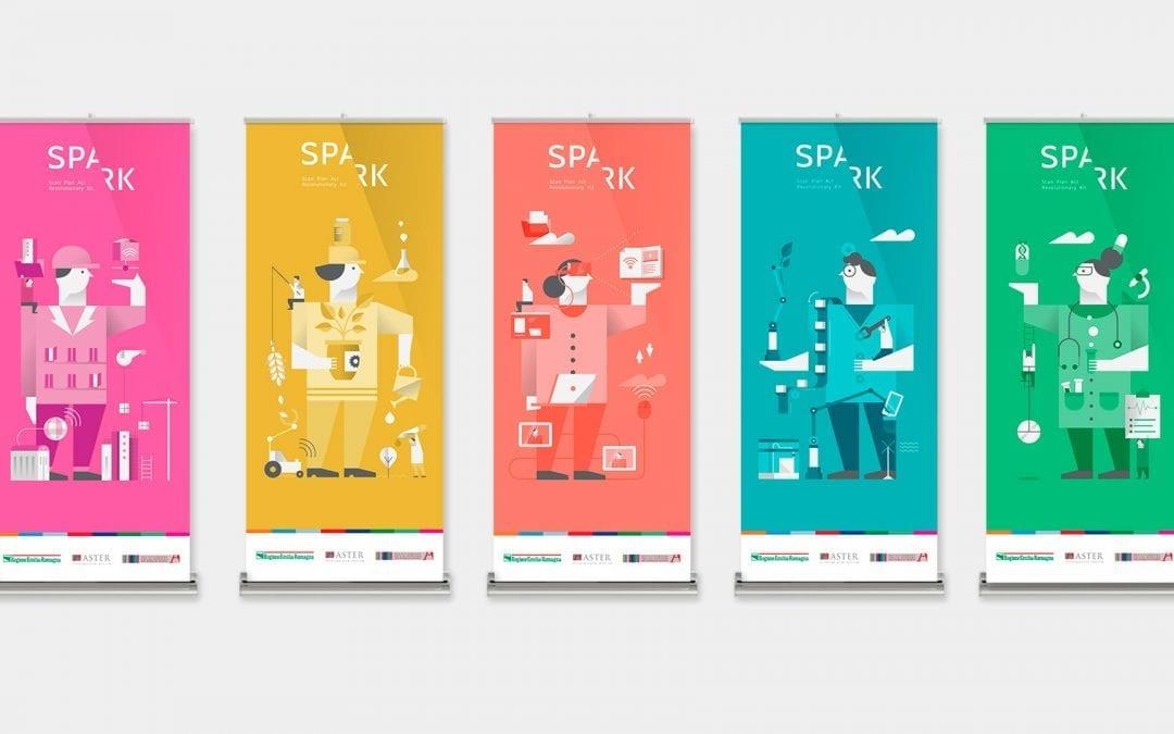 Brand identity for SPARK