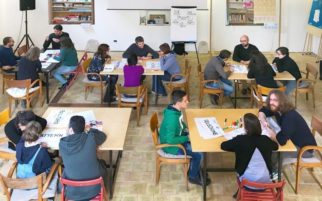 Itinerant workshops on the visual language