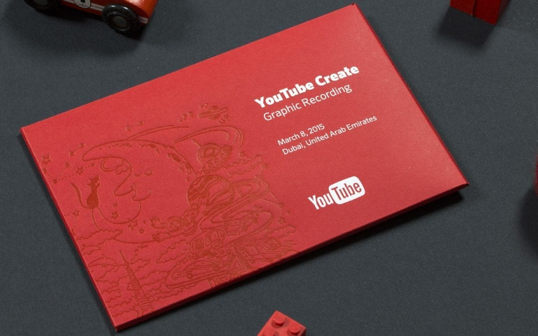 Communication for the YouTube Create event