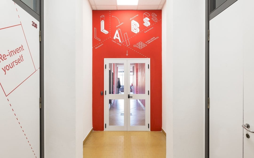 Dressing new academic spaces