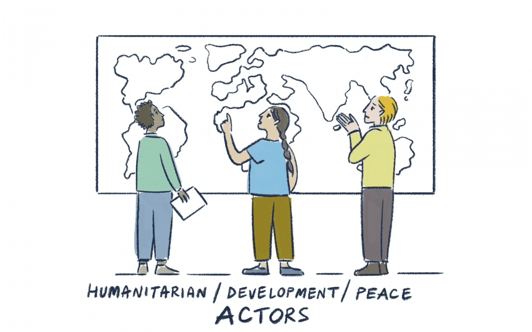 Connecting the dots: a new video with Interpeace, FAO and IOM