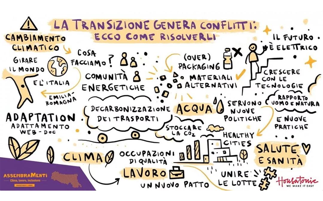 AssembraMenti, favorire la transizione ecologica