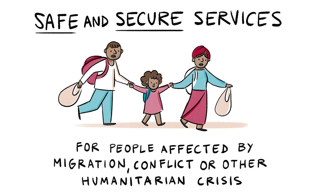 Raccontare una piattaforma umanitaria per immagini